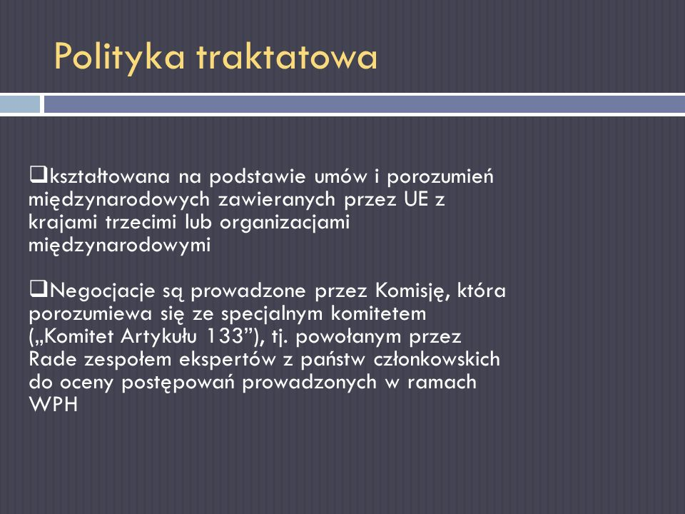 Polityka traktatowa