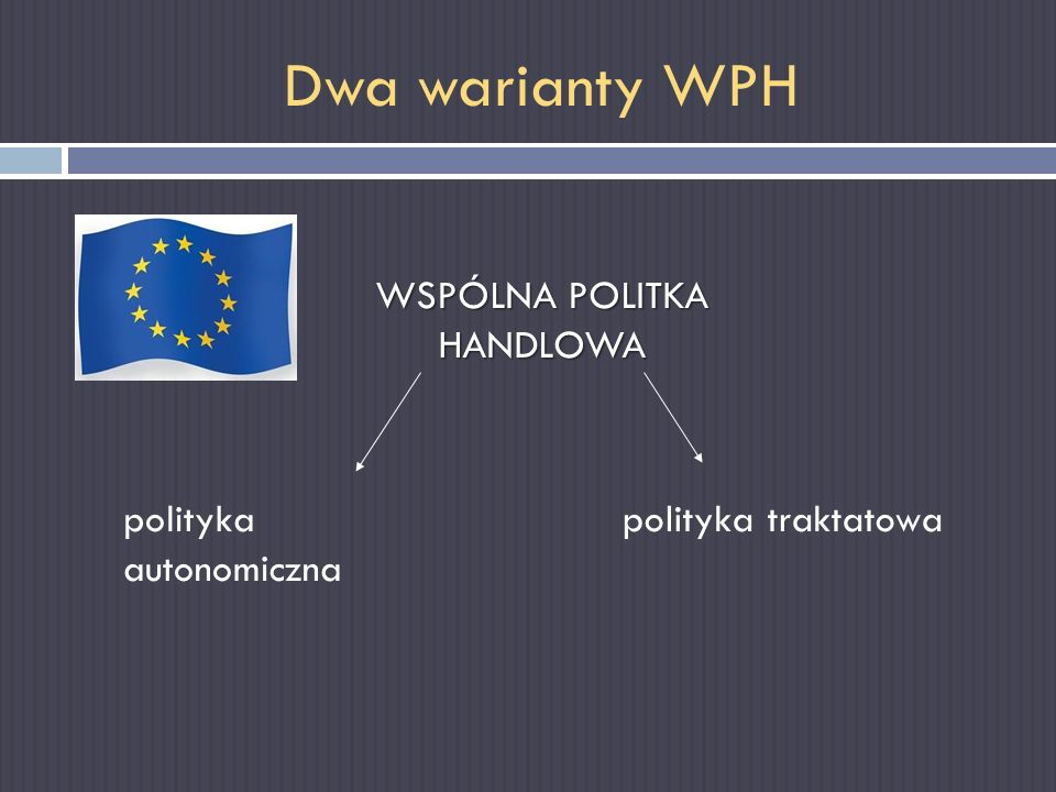WSPÓLNA POLITKA HANDLOWA