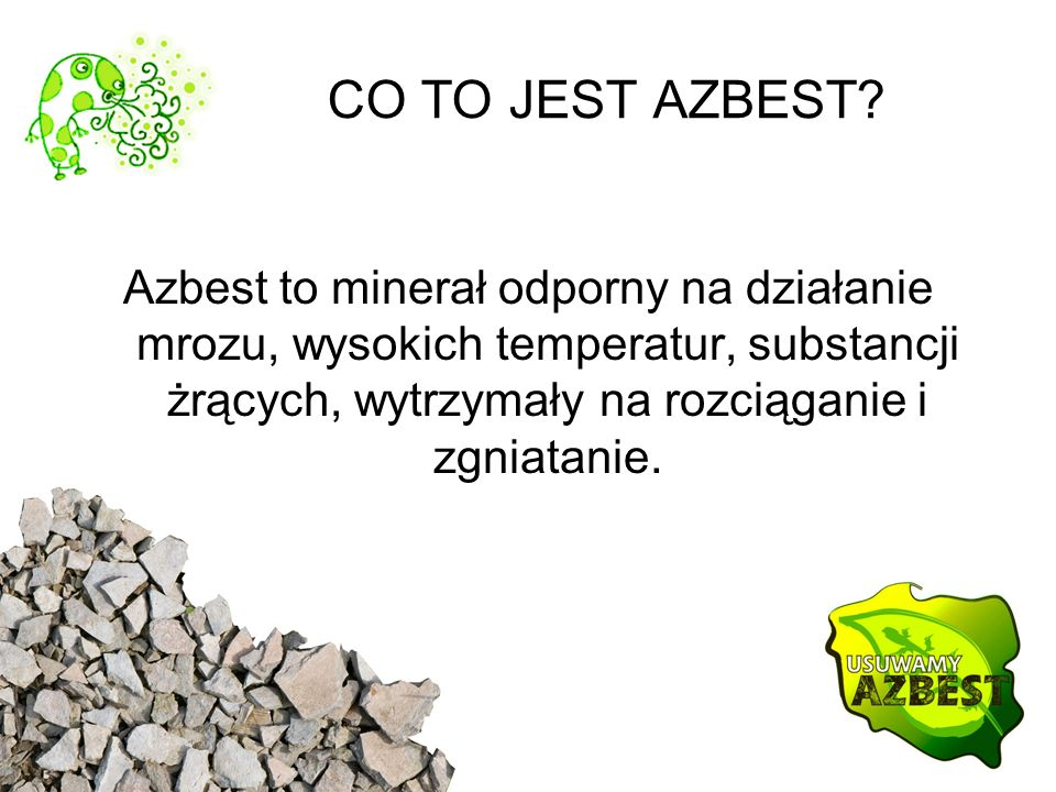 CO TO JEST AZBEST.