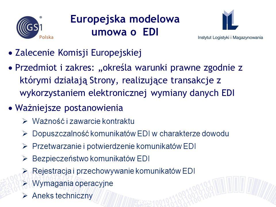 Europejska modelowa umowa o EDI