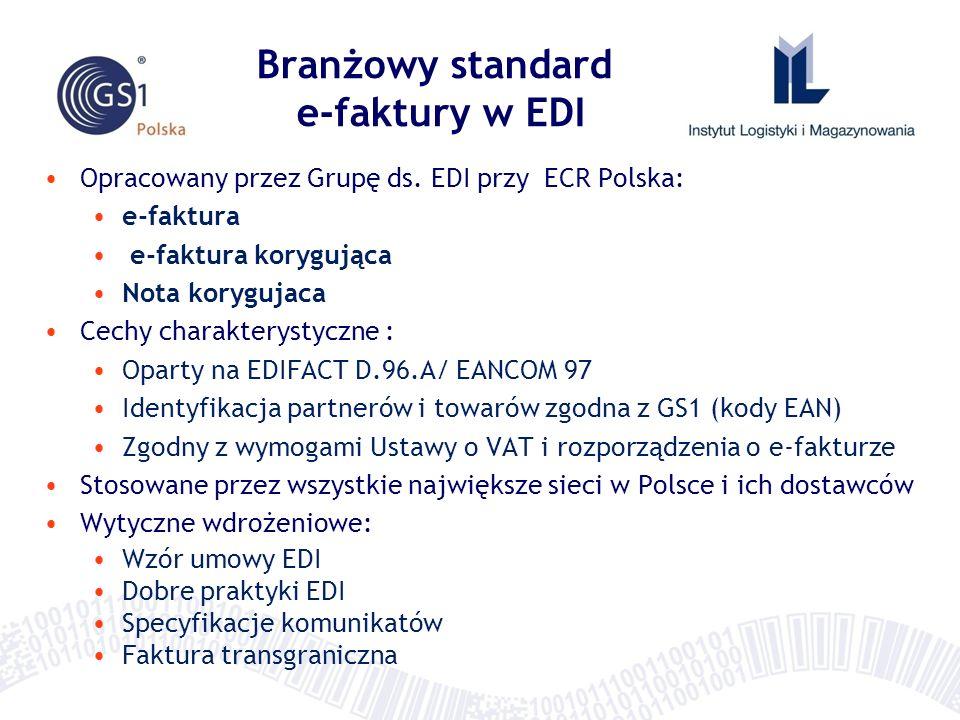 Branżowy standard e-faktury w EDI