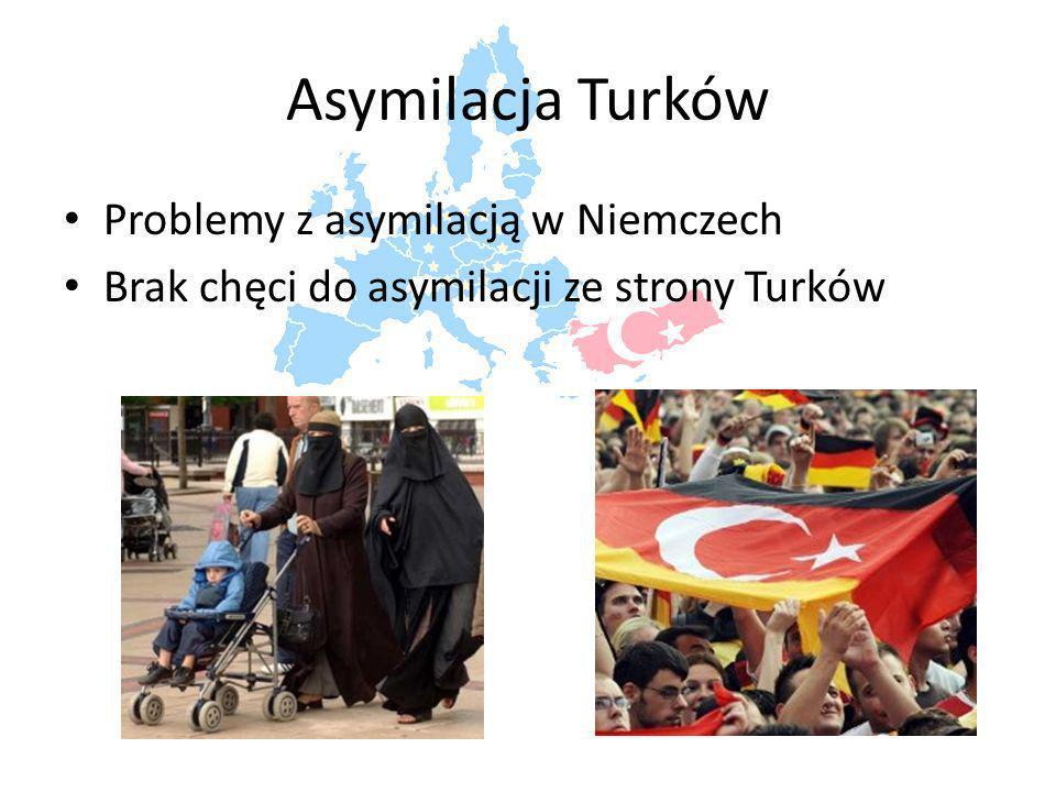 Asymilacja Turków Problemy z asymilacją w Niemczech