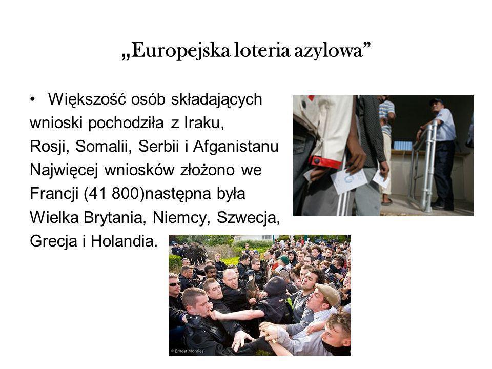 """Europejska loteria azylowa"