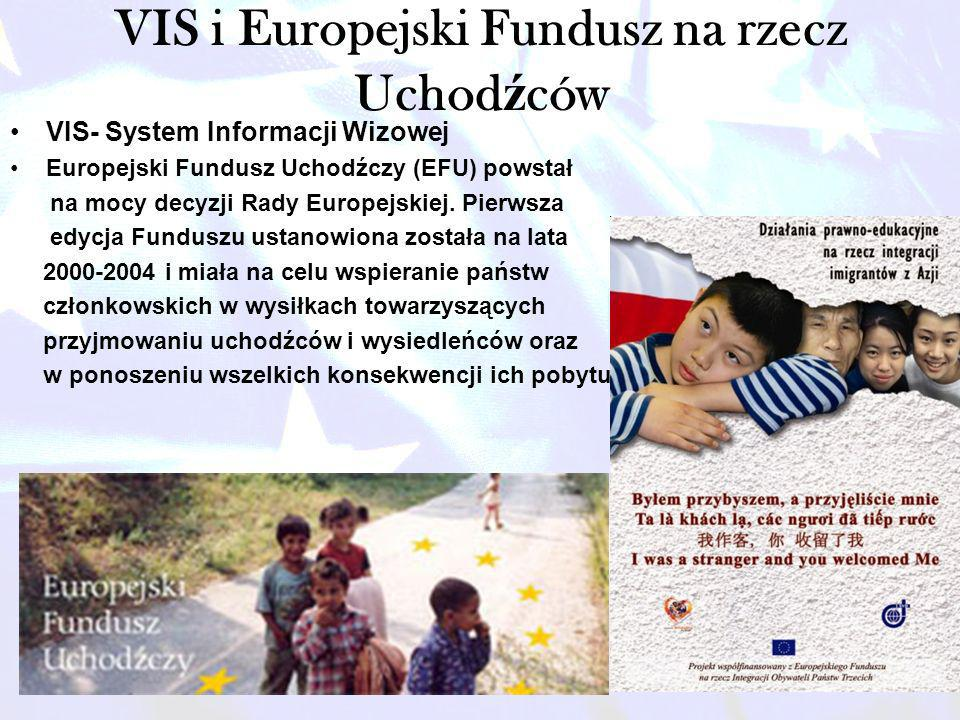 VIS i Europejski Fundusz na rzecz Uchodźców