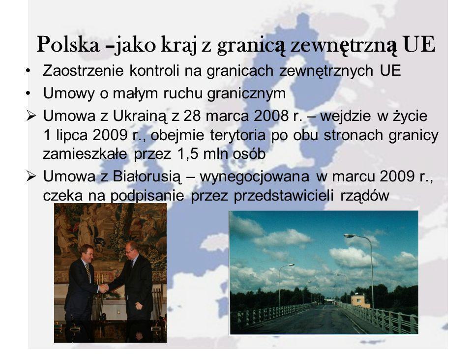 Polska –jako kraj z granicą zewnętrzną UE