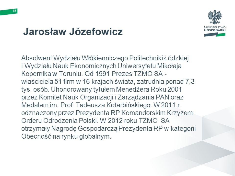 15 Jarosław Józefowicz.