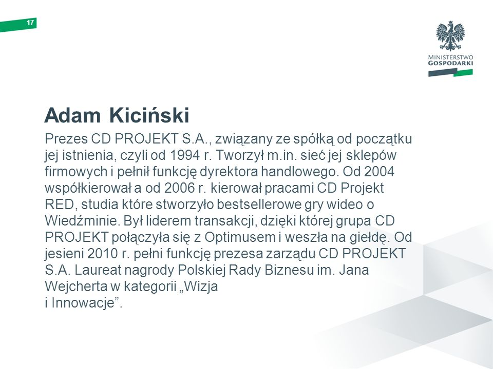 17Adam Kiciński.