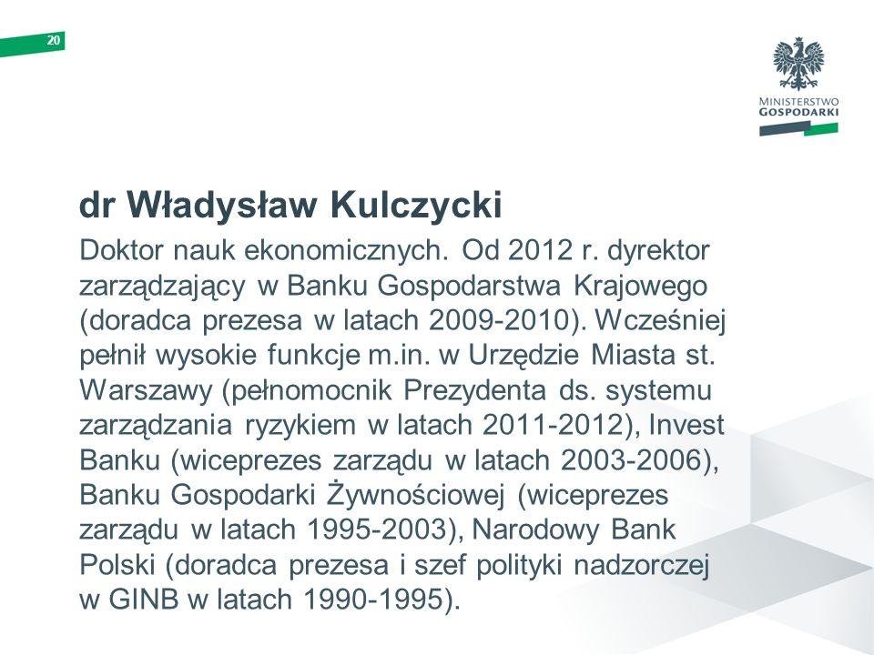 dr Władysław Kulczycki