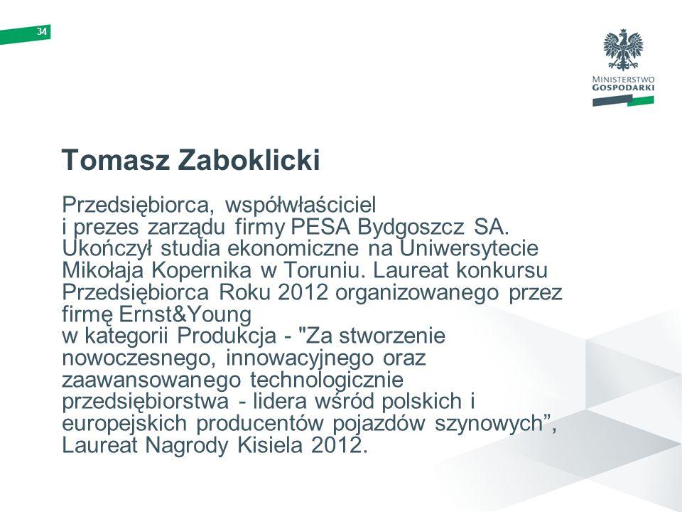34 Tomasz Zaboklicki.