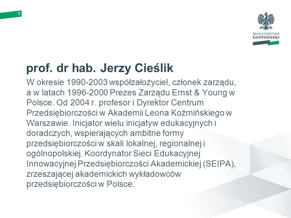 prof. dr hab. Jerzy Cieślik