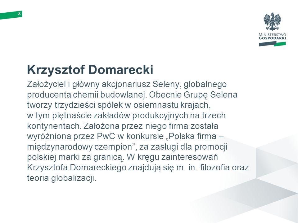 8 Krzysztof Domarecki.