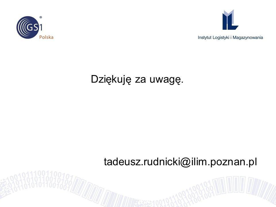 Dziękuję za uwagę. tadeusz.rudnicki@ilim.poznan.pl