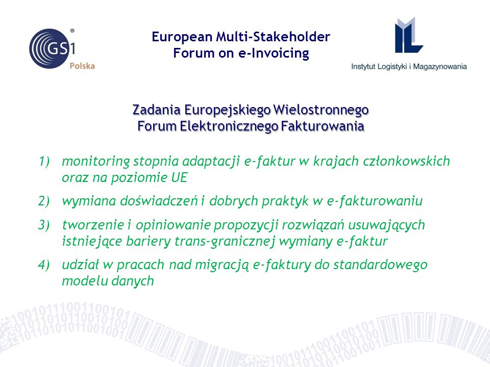 European Multi-Stakeholder Forum on e-Invoicing