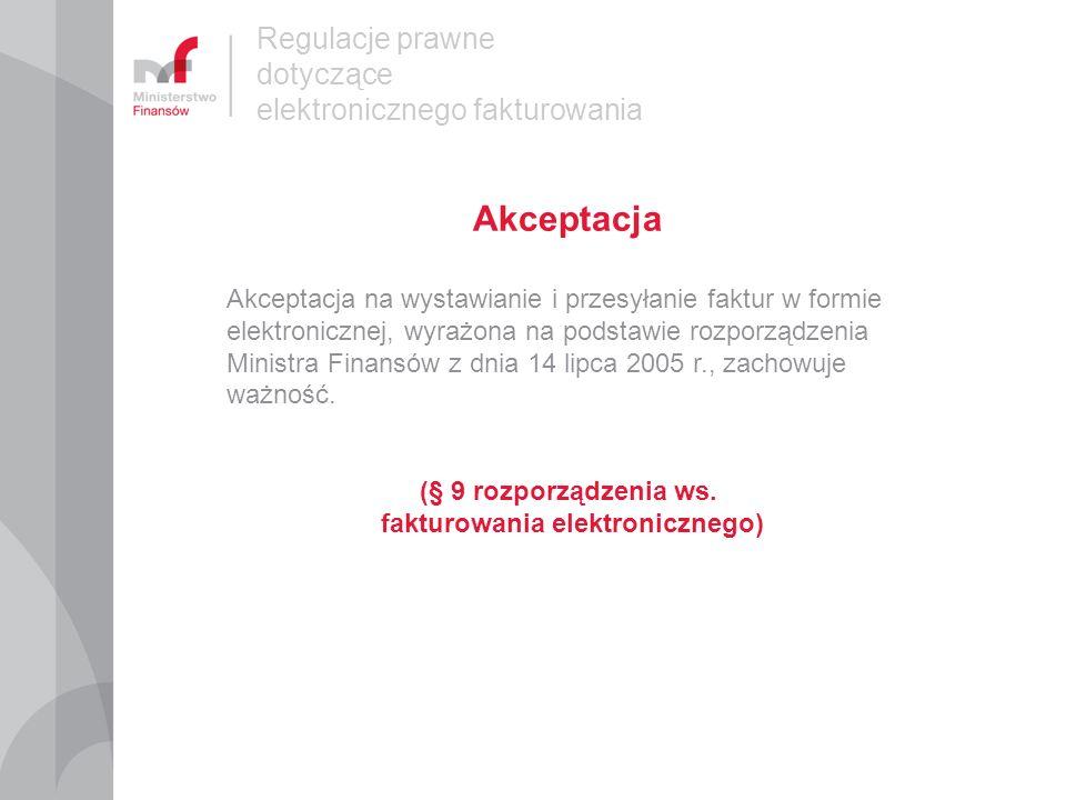 fakturowania elektronicznego)