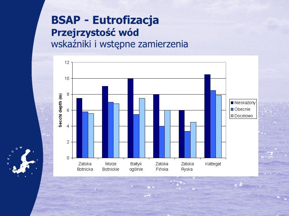 BSAP - Eutrofizacja Przejrzystość wód wskaźniki i wstępne zamierzenia