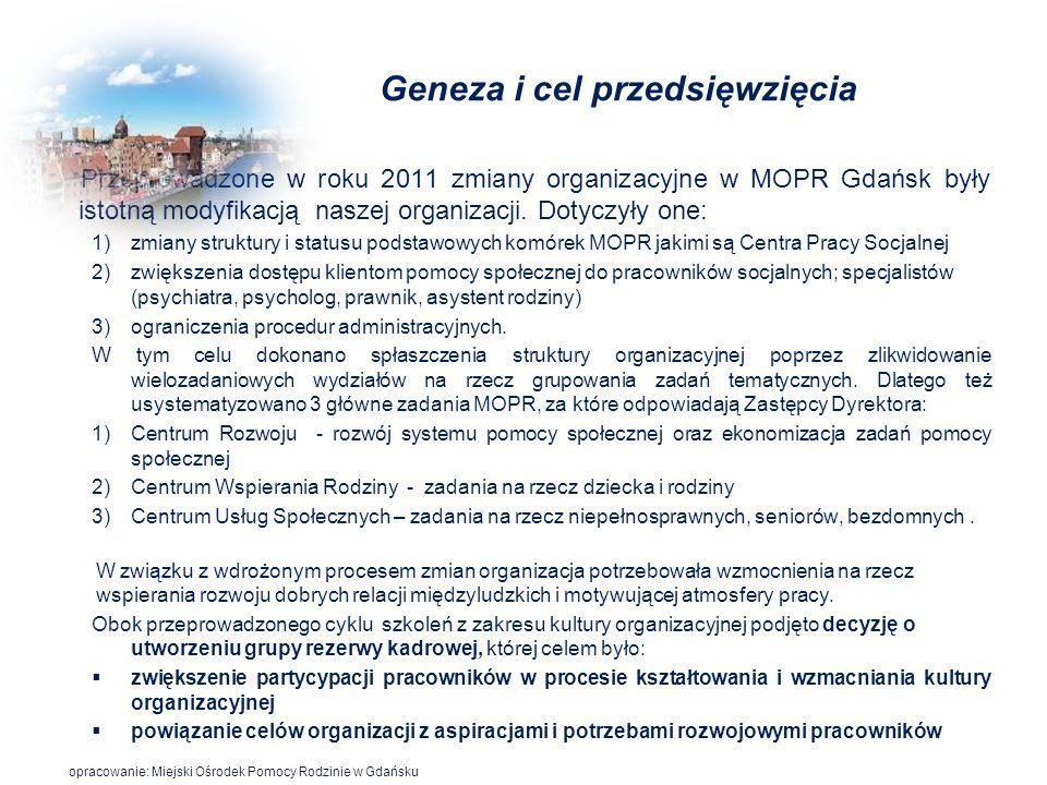 Geneza i cel przedsięwzięcia