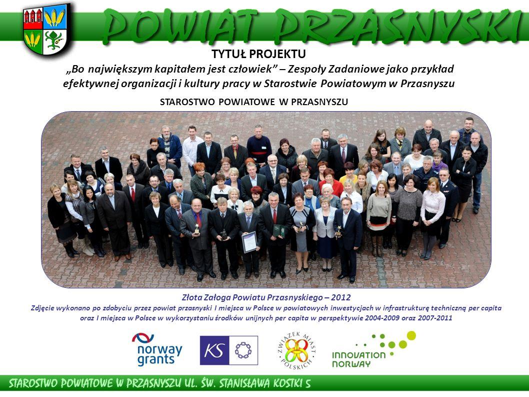 Złota Załoga Powiatu Przasnyskiego – 2012
