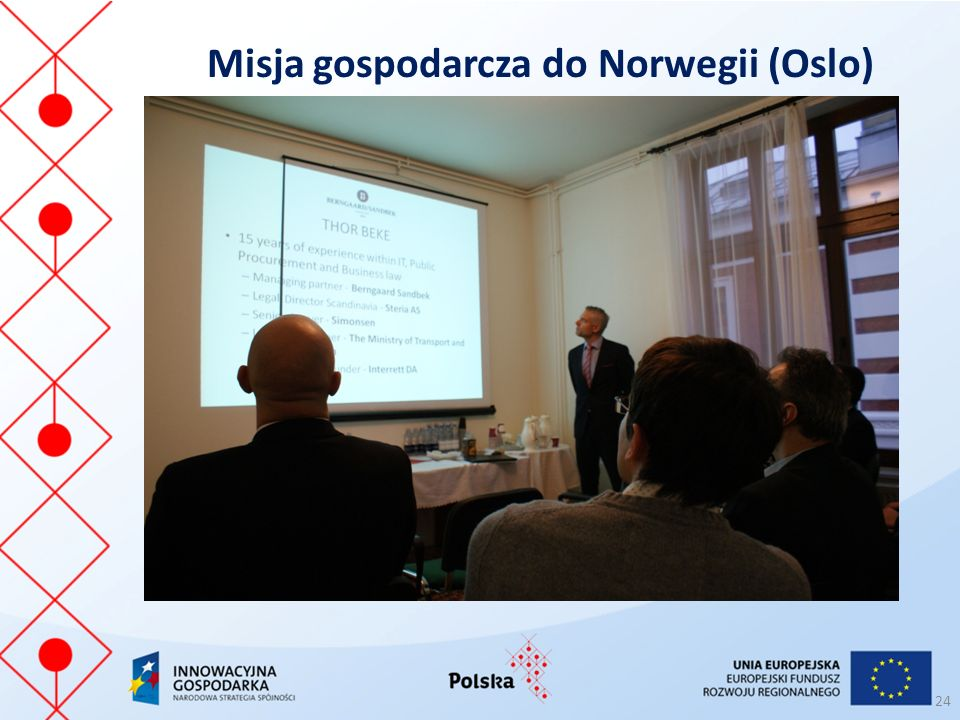 Misja gospodarcza do Norwegii (Oslo)