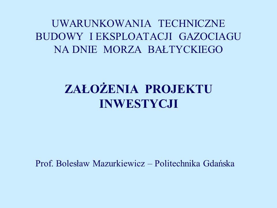 Prof. Bolesław Mazurkiewicz – Politechnika Gdańska