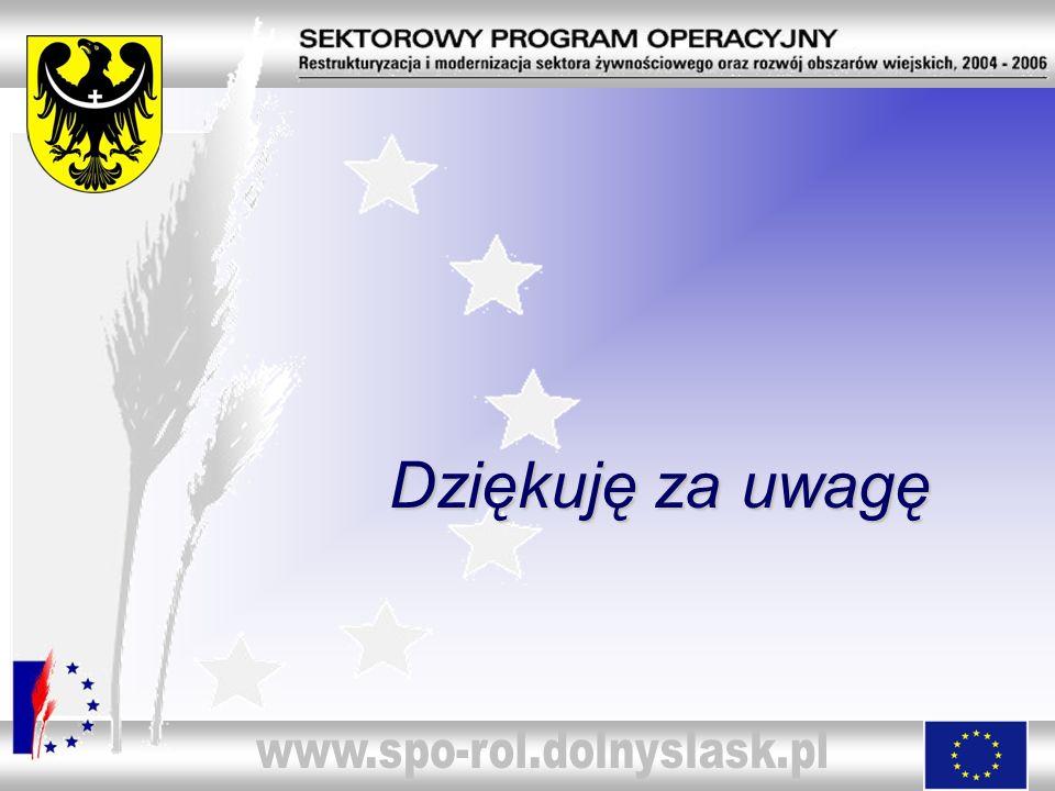 www.spo-rol.dolnyslask.pl Dziękuję za uwagę