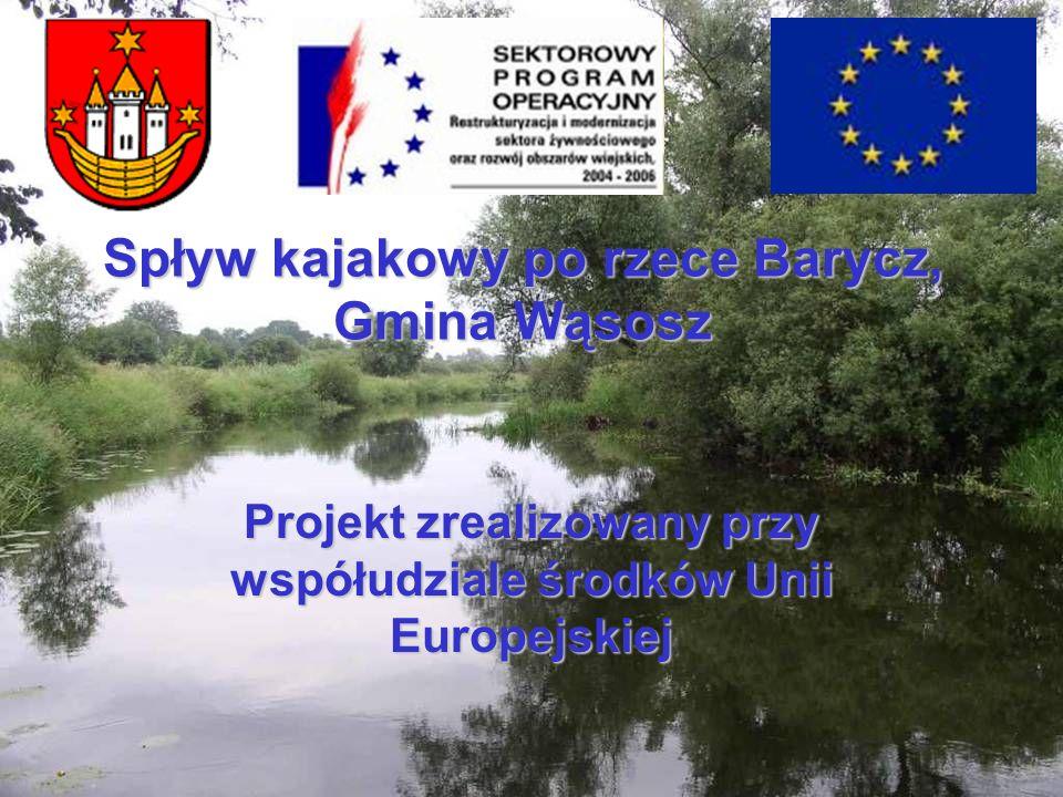 Spływ kajakowy po rzece Barycz, Gmina Wąsosz