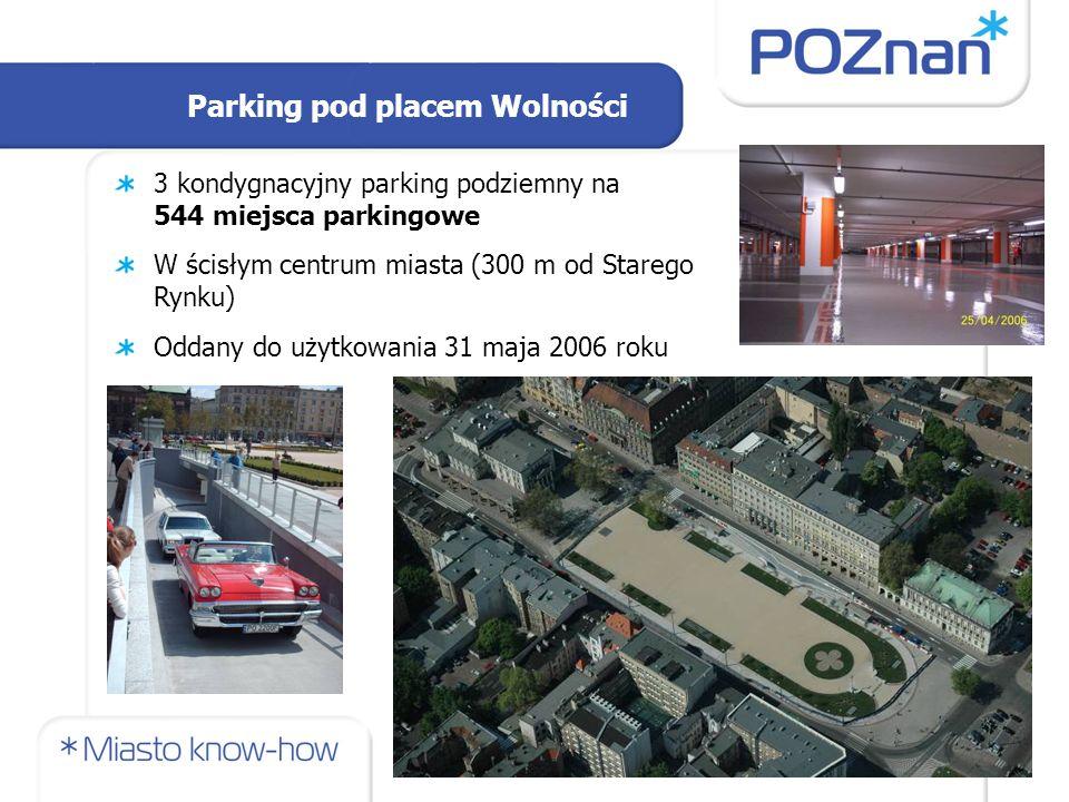 Parking pod placem Wolności