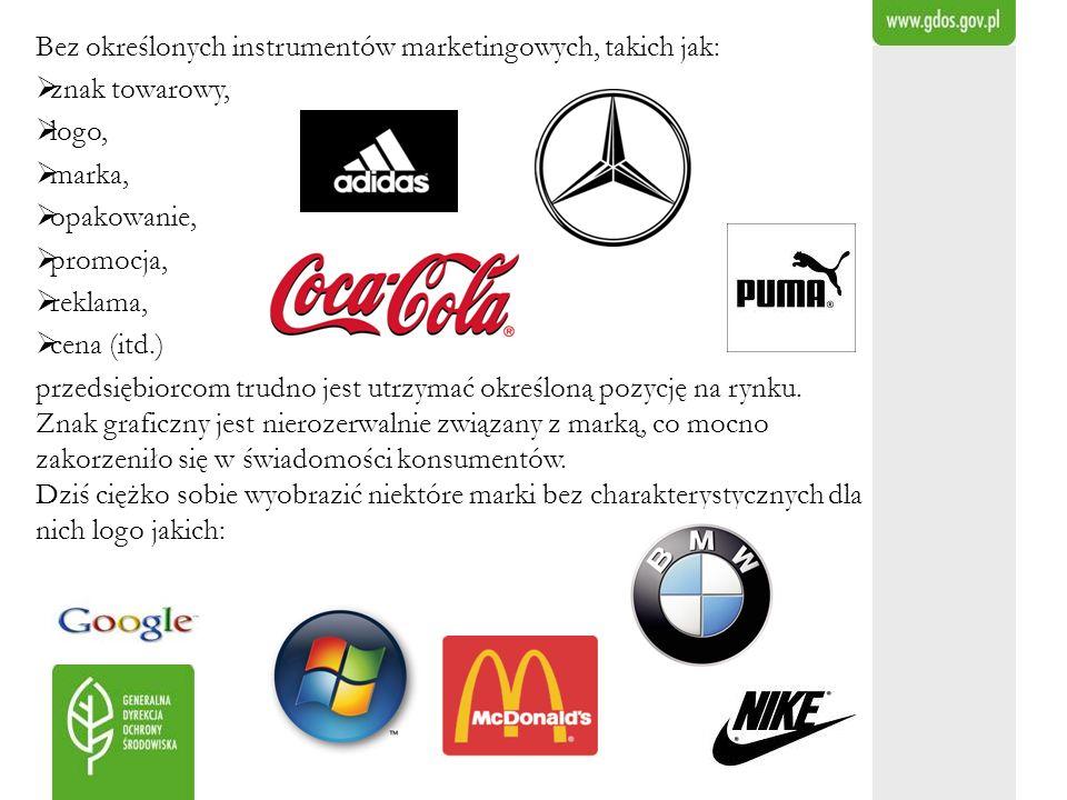 Bez określonych instrumentów marketingowych, takich jak: