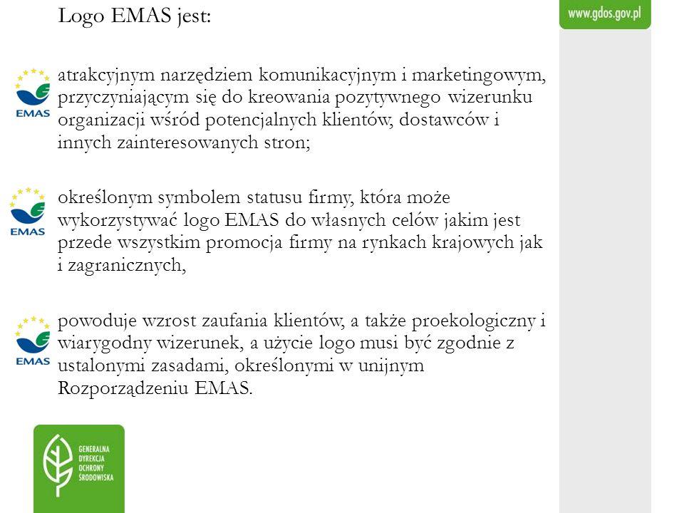 Logo EMAS jest: