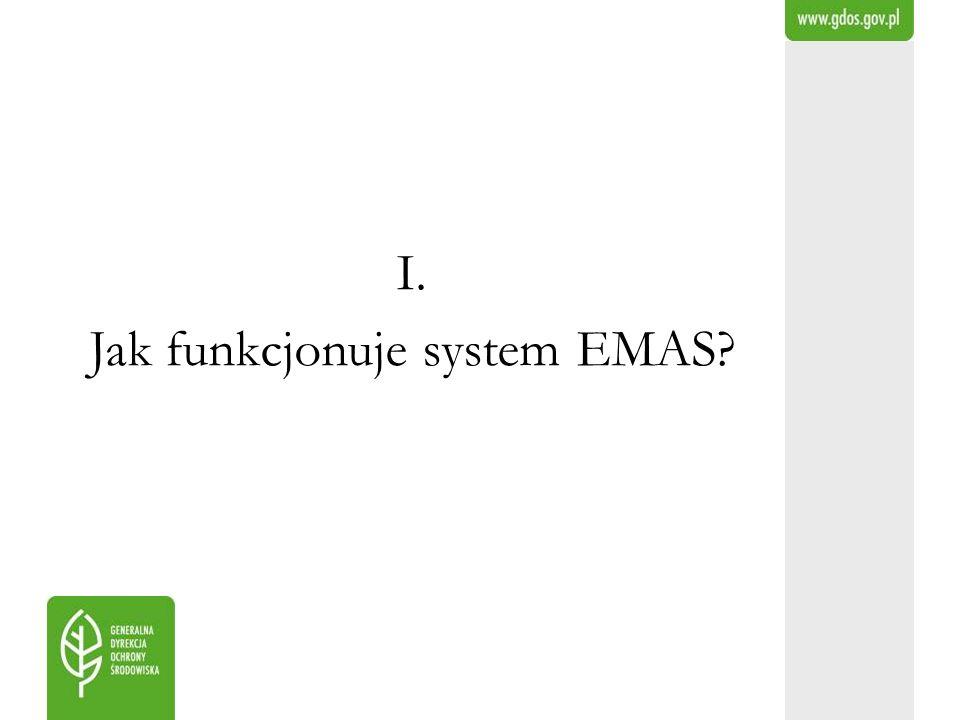 Jak funkcjonuje system EMAS