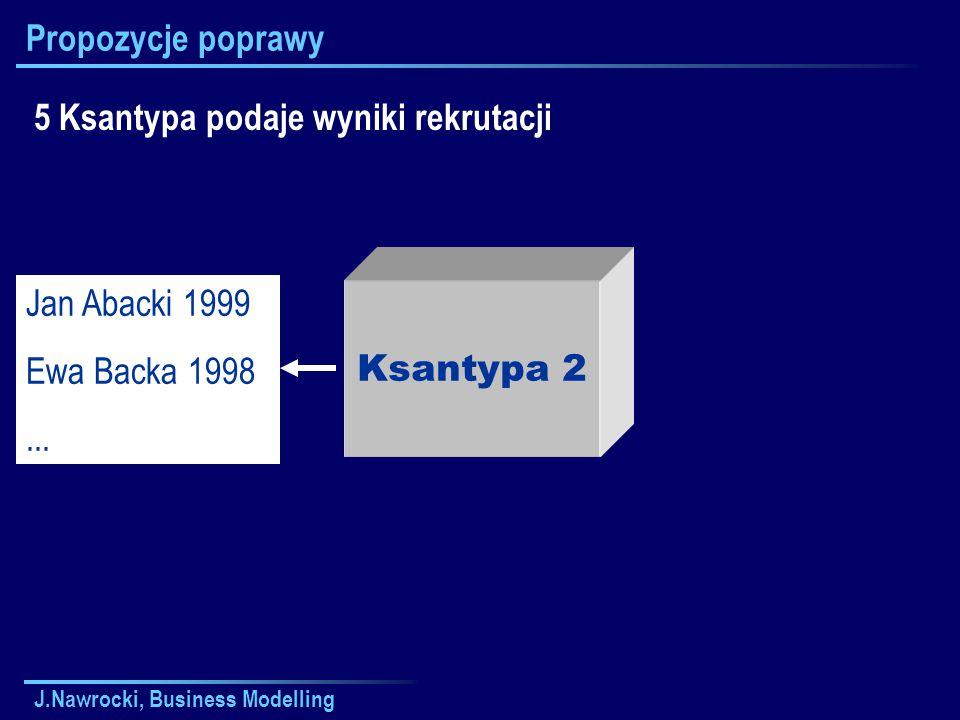 5 Ksantypa podaje wyniki rekrutacji