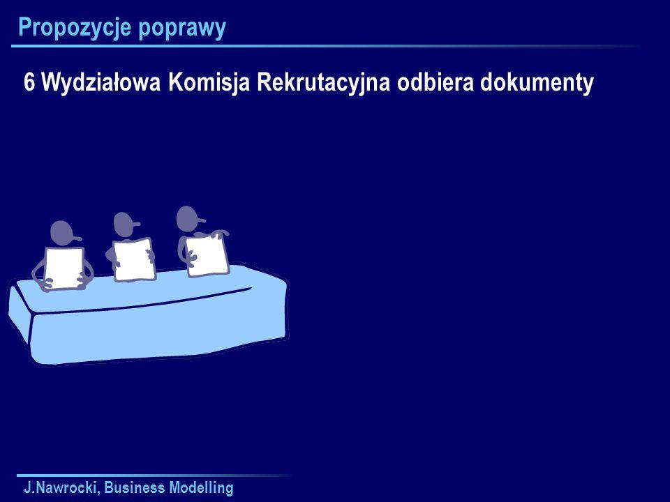6 Wydziałowa Komisja Rekrutacyjna odbiera dokumenty