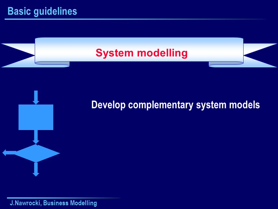Develop complementary system models