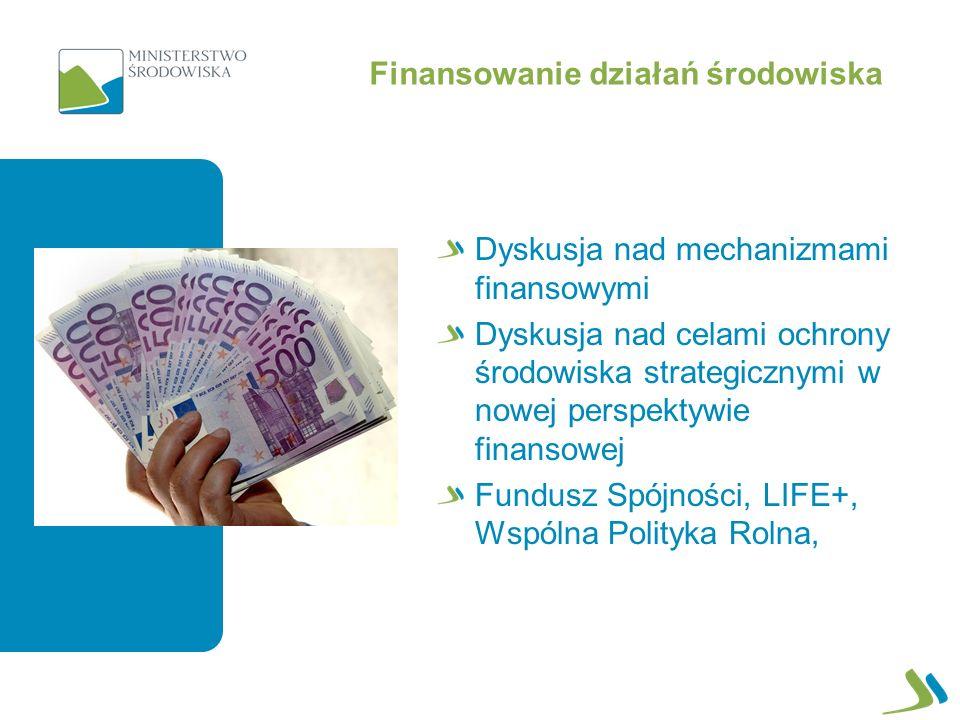 Finansowanie działań środowiska