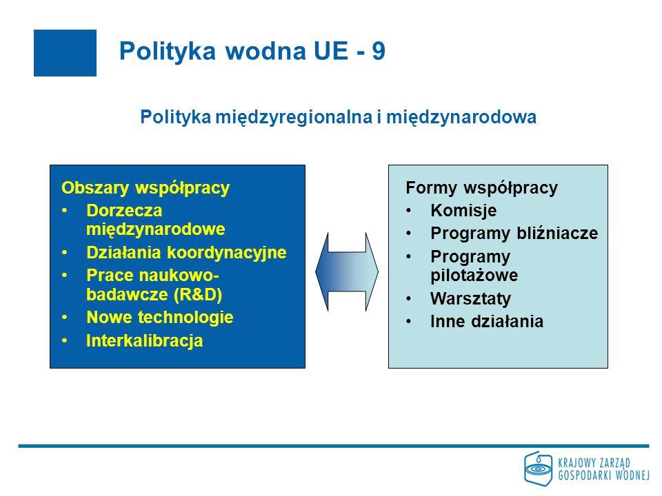 Polityka międzyregionalna i międzynarodowa