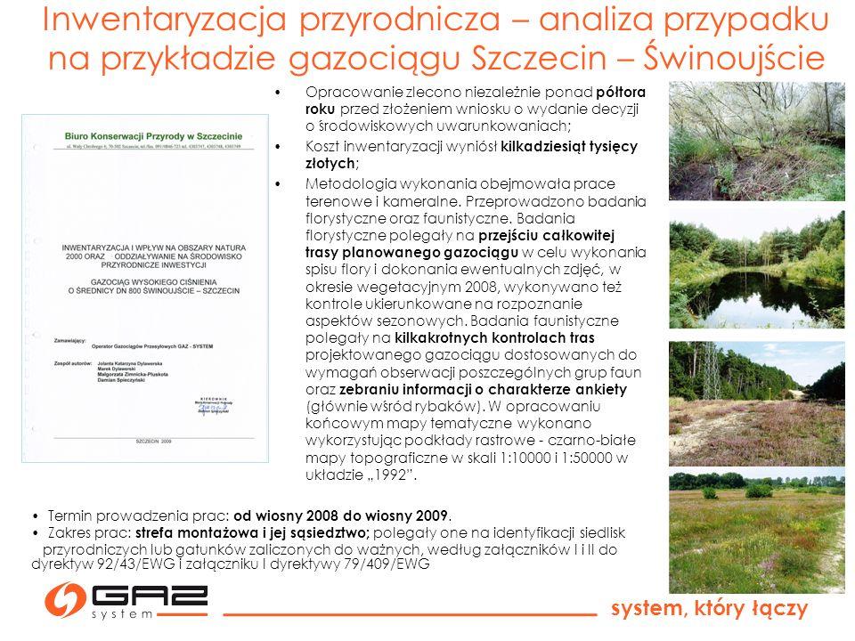 Inwentaryzacja przyrodnicza – analiza przypadku na przykładzie gazociągu Szczecin – Świnoujście