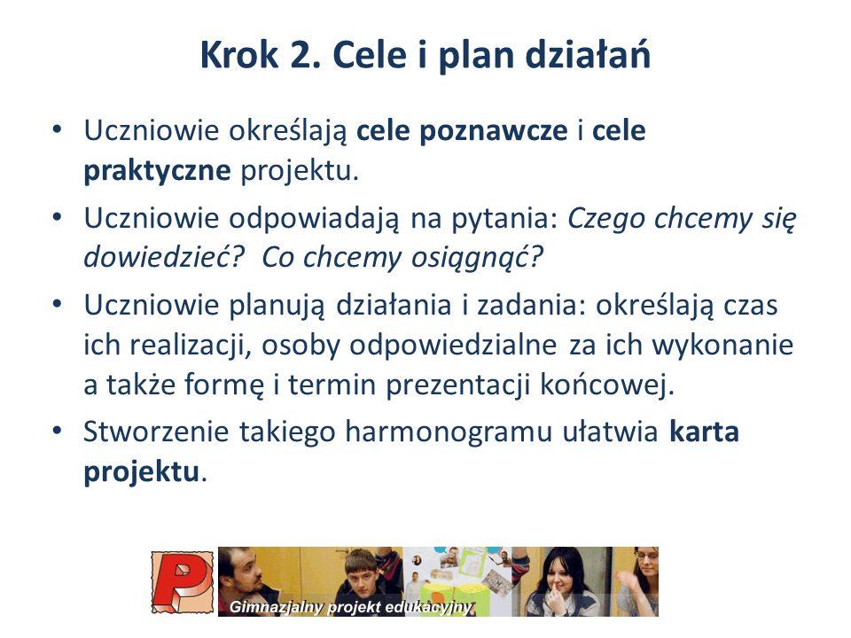 Krok 2. Cele i plan działań