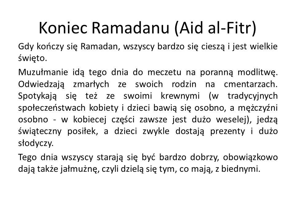 Koniec Ramadanu (Aid al-Fitr)