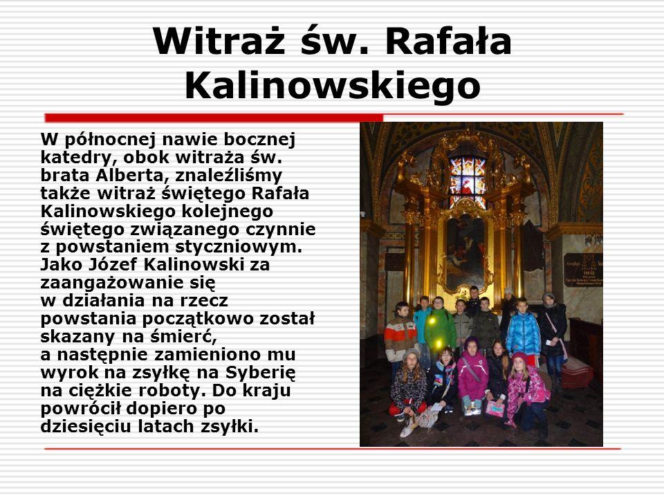 Witraż św. Rafała Kalinowskiego