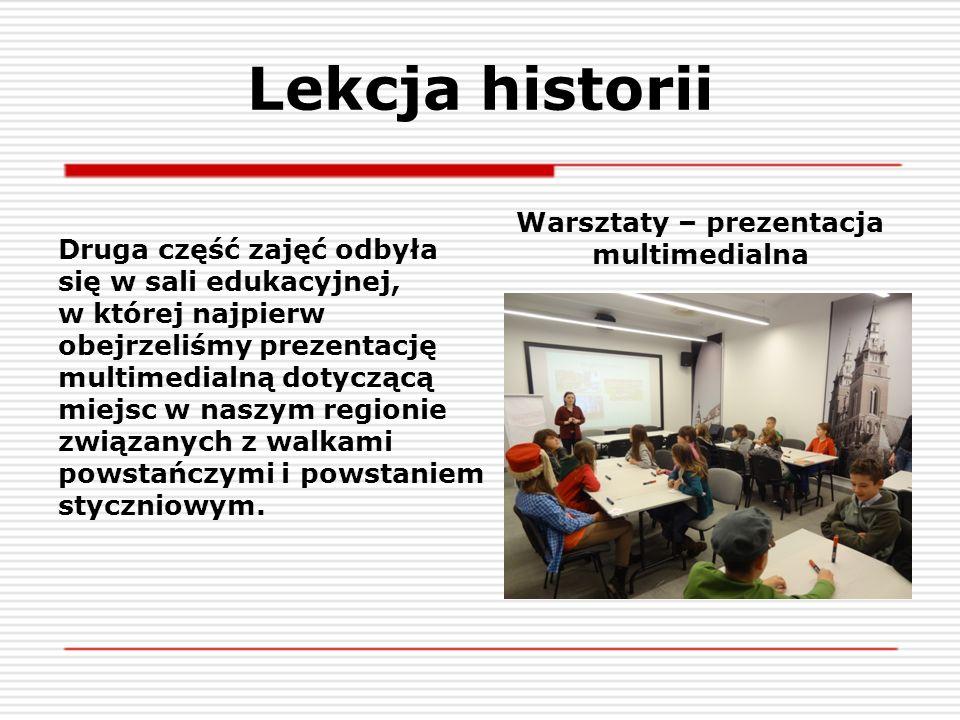 Warsztaty – prezentacja multimedialna