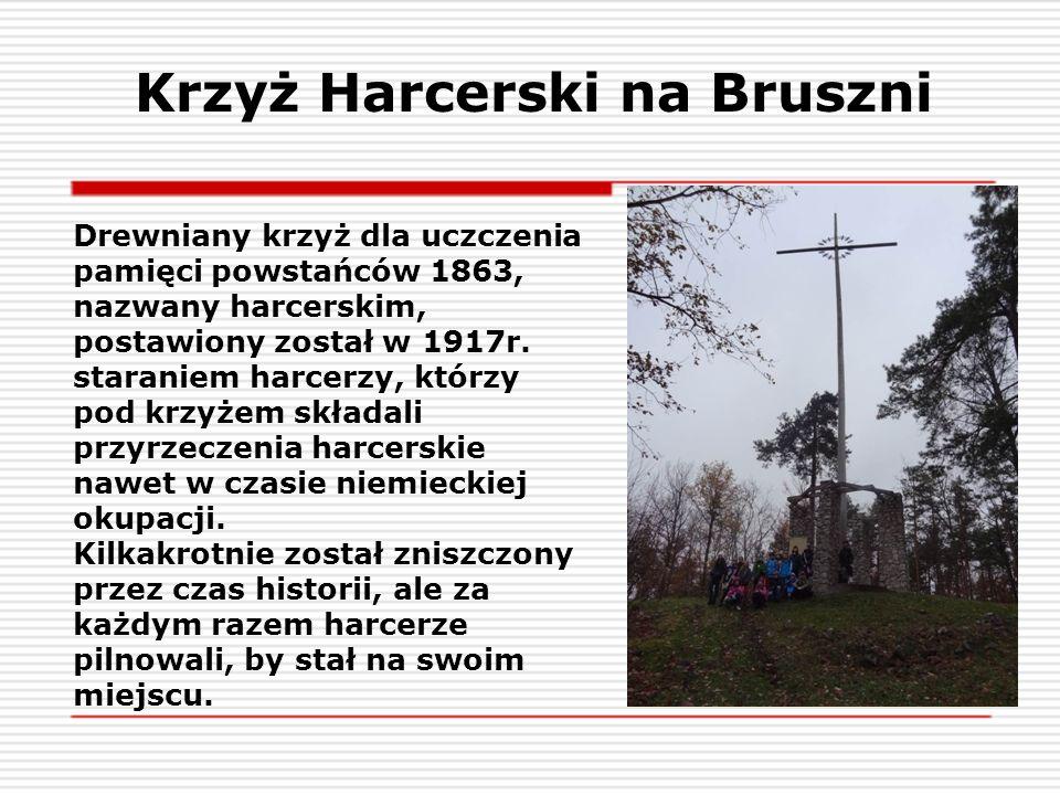 Krzyż Harcerski na Bruszni