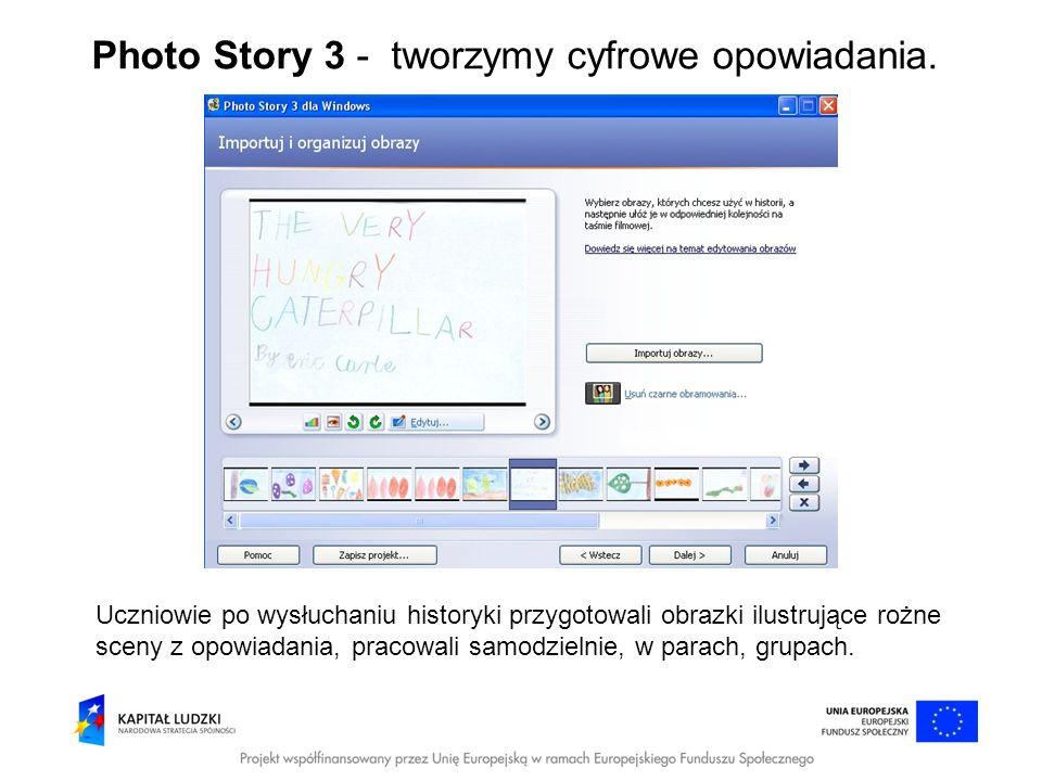 Photo Story 3 - tworzymy cyfrowe opowiadania.