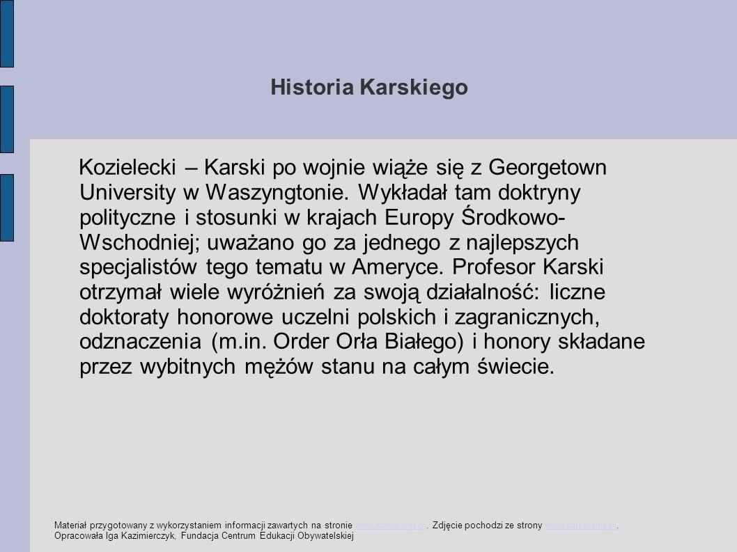Historia Karskiego