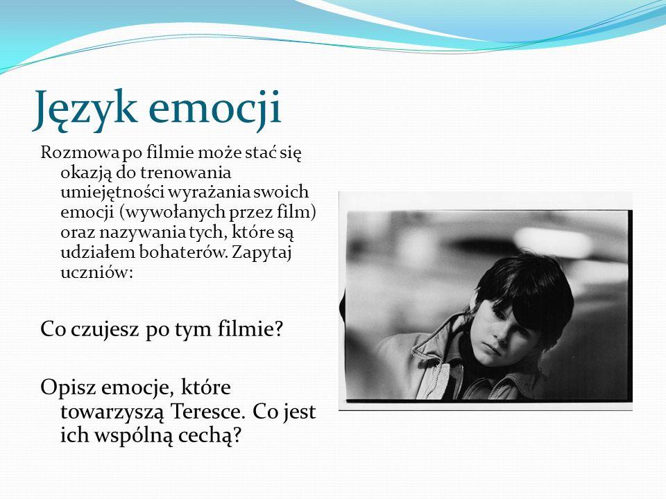 Język emocji Co czujesz po tym filmie