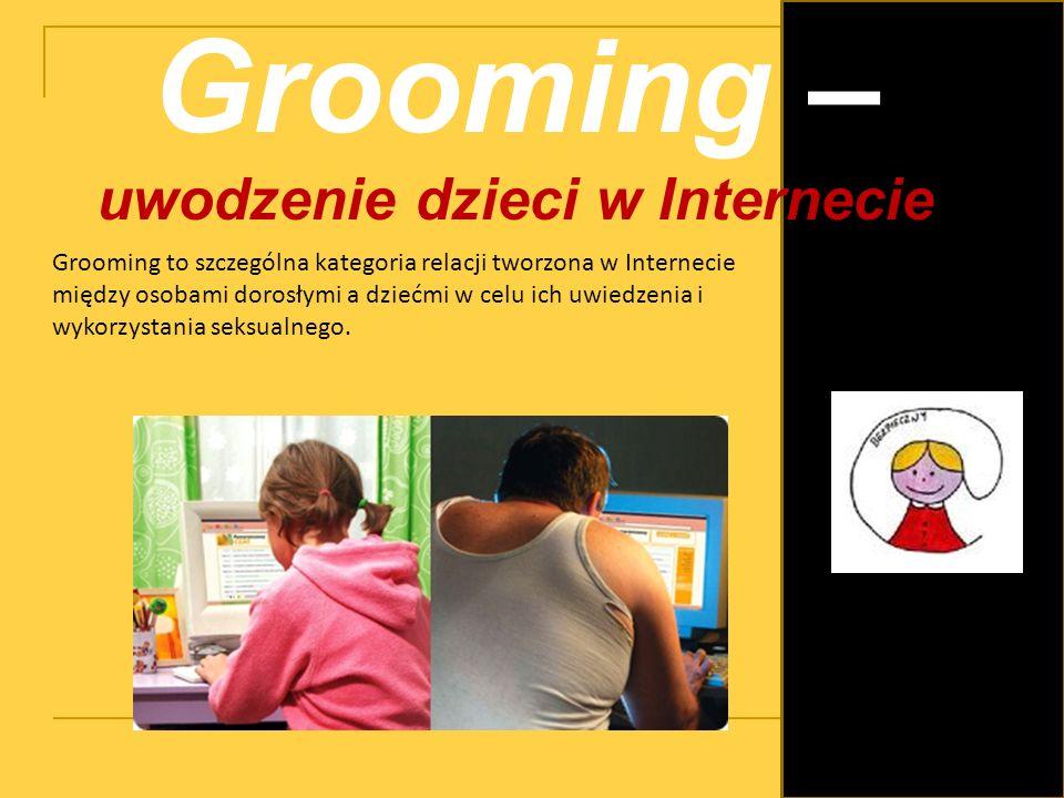 uwodzenie dzieci w Internecie