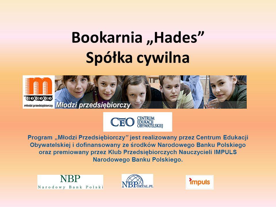 """Bookarnia """"Hades Spółka cywilna"""