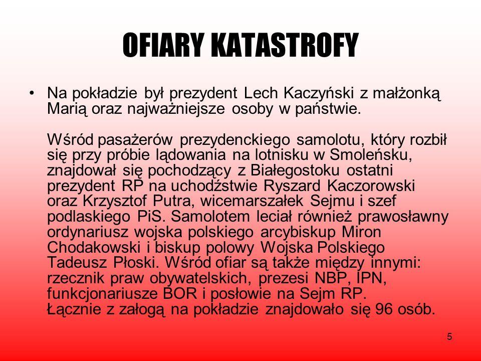 OFIARY KATASTROFY