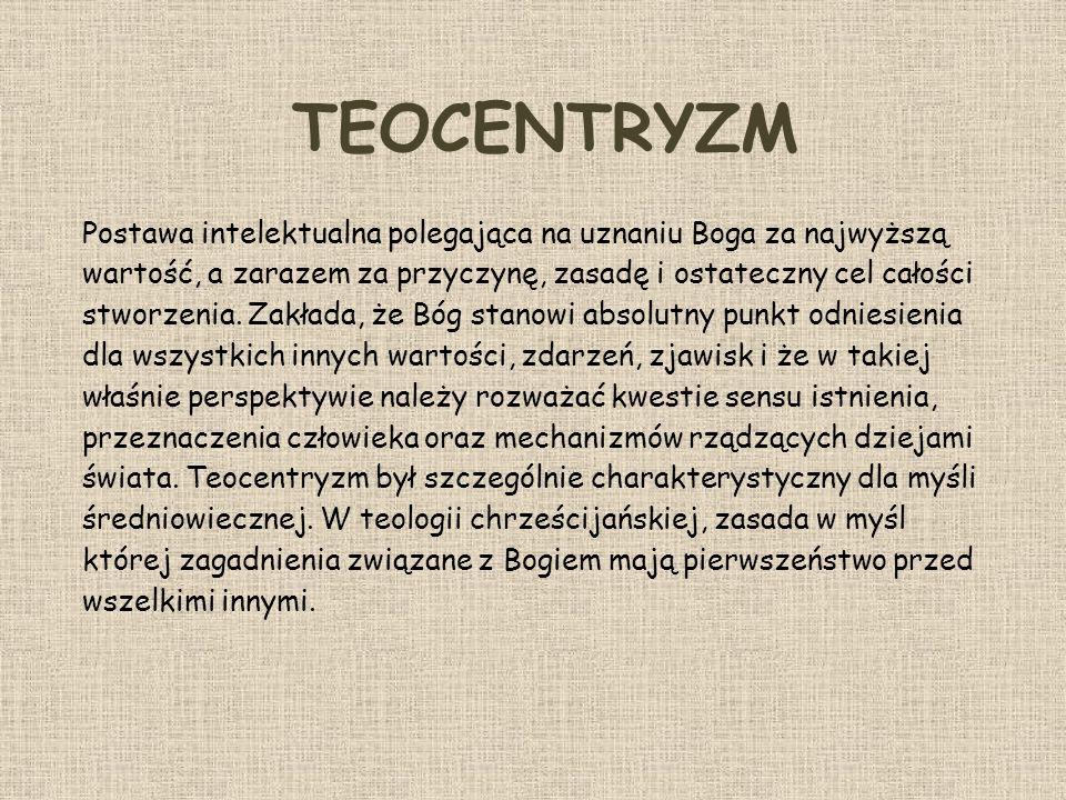 TEOCENTRYZM