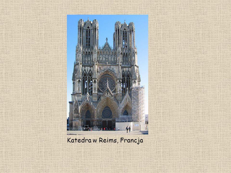 Katedra w Reims, Francja