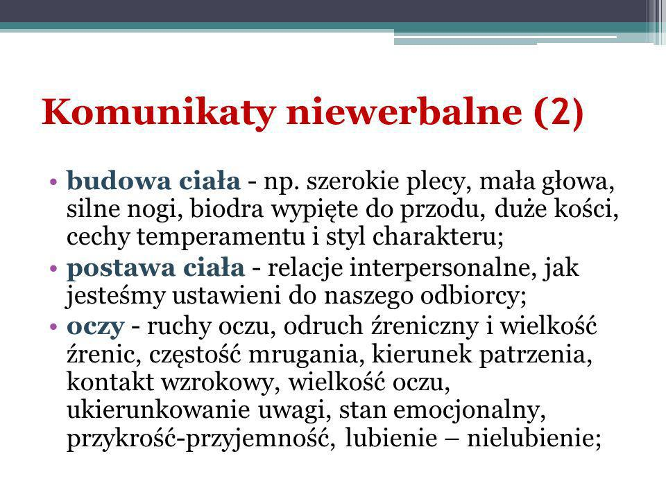 Komunikaty niewerbalne (2)