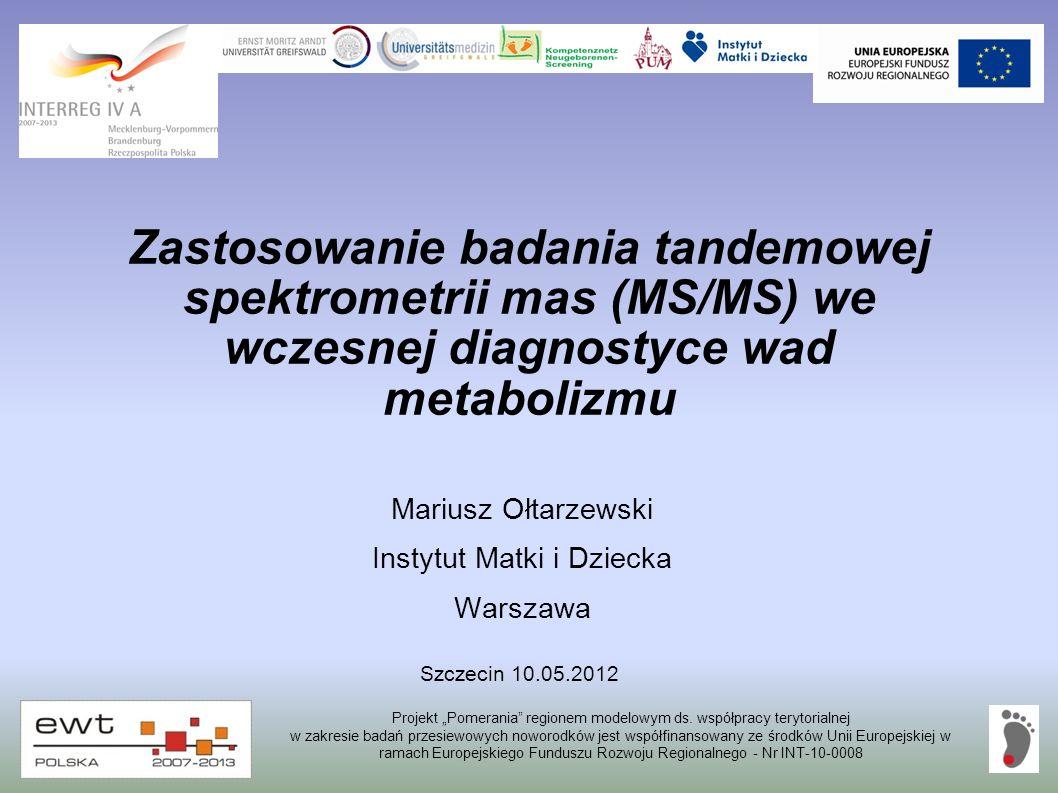 Mariusz Ołtarzewski Instytut Matki i Dziecka Warszawa